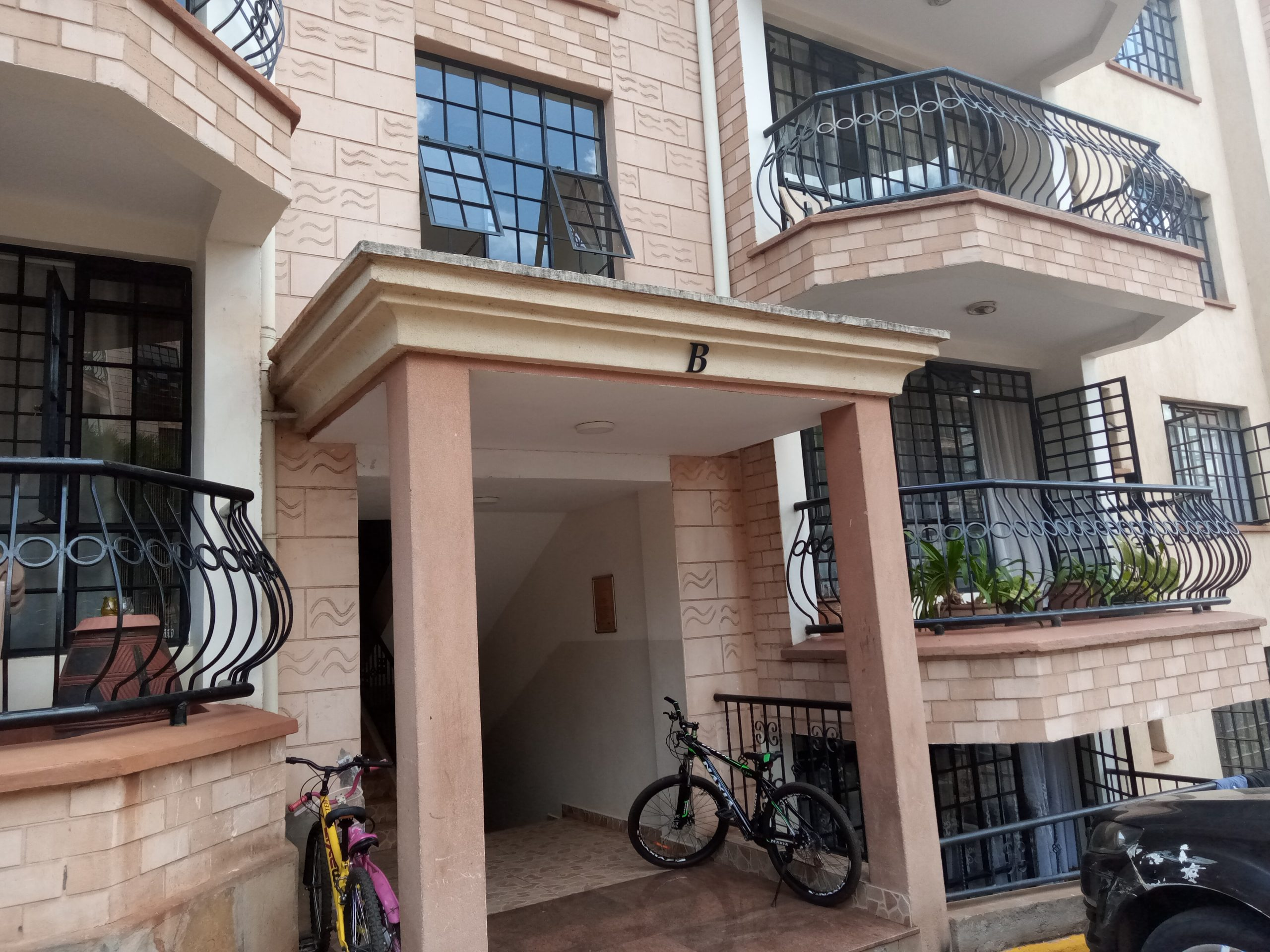 2 Bedroom Pent Apartment to let in Westlands.